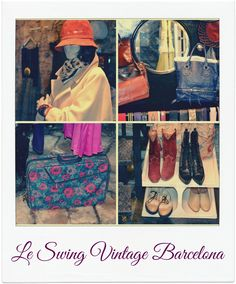Vintage shopping at Le Swing in Barcelona.