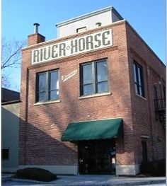River Horse Brewing Co, Lambertville, NJ. Go on the brewery tour!