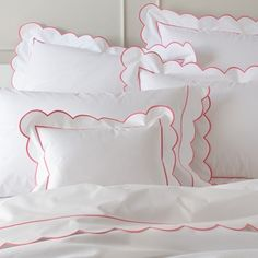Matouk ‐ Butterfield Bed Linens By Matouk ‐ Pioneer Linens Bed Linen Sets, Bed Sets, Linen Bedding, Bedding Sets, Bed Linens, Percale Sheets, Sheets Bedding, Big Girl Rooms, Fine Linens