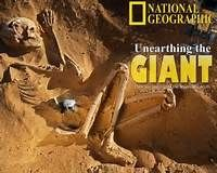 A giant mystery: 18 strange giant skeletons found in Wisconsin - Look at a basketball hoop and add 5 feet. That tall. Greek Mythology talks about war with cyclops learning they had to bring down by taking out their legs rendering them slow and helpless. American Giants (Red Hair Giants) where found with Egyptian writing on their tombs have been found in multiple locations.