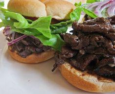Teri Beef Sandwiches