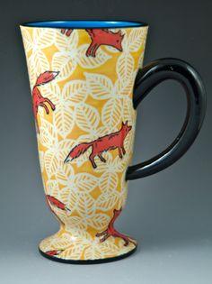 Mug with Foxes