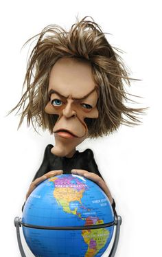 Amusing caricature of Bowie..FOLLOW THIS BOARD FOR GREAT CARICATURES OR ANY OF OUR OTHER CARICATURE BOARDS. WE HAVE A FEW SEPERATED BY THINGS LIKE ACTORS, MUSICIANS, POLITICS. SPORTS AND MORE...CHECK 'EM OUT!!