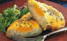 Baked Potato Stuffed Eggs