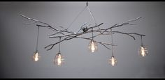 10 Rooms: Woodland Chandelier - Sculptural Lighting by Jessica Bodner (?)