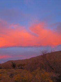 Sunset in southern California desert: http://manitoubeads.com/portfolio/
