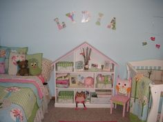 Joint baby and older child's room