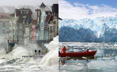 Ao longo da história, oceanos e mares têm sido canais vitais para o comércio e transporte, mas sofrem com a poluição, a exploração predatória da pesca e o aquecimento global.