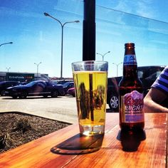 Photo by bleibz - First patio beers of the year... well in Regina that is! #drinkup #brews #sundays #sundayfunday