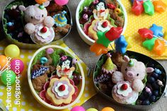 Really cute bento for kids !