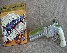 Retired Avon Volcanic Repeating Pistol Mens After Shave With Box - $30.00 : Vintage Collectibles Sewing Patterns Postcards Aprons Ephemera