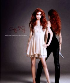 The Mortal Instruments #Clary #cassandraclare #themortalinstruments --I want her hair so badly!!!