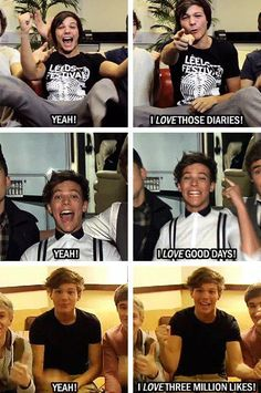 He's still the same old Louis :)