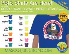 PBIS shirt printing