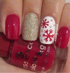 ❄️ snow nails ❤️