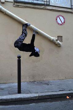 by Charles Leval aka Levalet, Paris