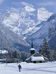 Kandersteg, Berner Oberland, Switzerland...