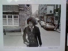 Michael Jackson Lauriersgracht, Amsterdam 1979.