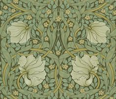 William Morris ~ Pimpernel ~ Original by  PeacoquetteDesigns on Spoonflower ~ bespoke fabric, wallpaper, wall decals & gift wrap ~ Join PD  ~ https://www.facebook.com/PeacoquetteDesigns     What can we make for you? http://www.Peacoquette.com