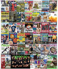 Magazines Bundle - January 15, 2017 English | 37 Issues | True PDF | Total size: 614 MB