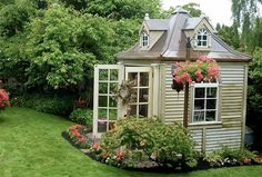 What's a she shed, you ask? It's a must-have hideaway for ladies who need a getaway that's close to home. Learn all about she-sheds now.