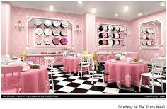 Eloises Tea Room - courtesy of The Plaza Hotel | Pink Tea Party Room
