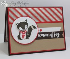 Stampin' Up! Cozy Critters for the Happy Stampers Blog Hop