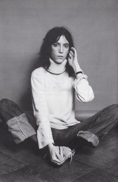 Patti Smith by Lynn Goldsmith