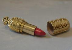 gold lipstick case..rad!