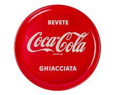 Vassoio Coca Cola anni 50 - d 27 cm