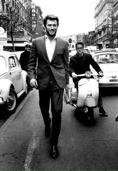 Clint Eastwood in Rome 1965