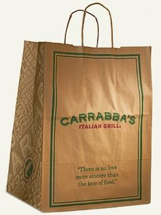 Carrabba's Italian Grill: 8 Recipes to try at home! Recipe for Tag Pic Pac!! I LOVE that stuff! Joel tried to make it for me one time and just not the same. Now we'll have to try again!