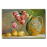 """""""Soft Tulips in the Pottery"""" Canvas Art"""