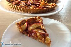 Jabolčna pita - brez glutena