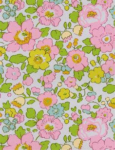 Vu sur www.stragier.com : Liberty Tana Lawn - 2019 Betsy - Béryl rose