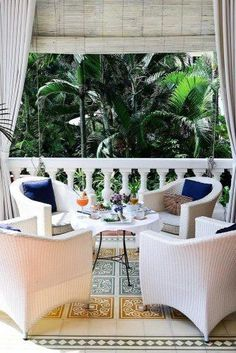 Amazing Cheap Honeymoon Ideas For Your Rest ★ cheap honeymoon ideas white hotel palms stacie Cheap Honeymoon, All Inclusive Honeymoon, Honeymoon Ideas, French Villa, Outdoor Furniture Sets, Outdoor Decor, Country Kitchen, Interior Design Inspiration, Palms