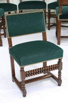 SIX Louis XIII Dining Chairs 5
