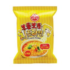 Buy Ottogi Korean Cheese Ramen online from Asia Market. Known by the name 'Bodul Bodul Ramyun' in Korea. The smoothest one of all cheesy ramens. Asian Noodles, Soba Noodles, Korean Instant Noodles, Cheese Ramen, Buckwheat, A Food, Snack Recipes, Chips, Breakfast