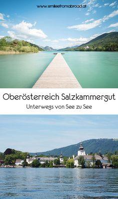 Von See zu See unterwegs im Salzkammergut in Oberösterreich & Salzburg Oahu, Roadtrip, Wasting Time, Austria, Travel Destinations, Places To Go, Beautiful Places, Europe, Outdoor Decor