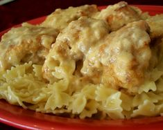 This recipe copmes from an Amish cookbook from the great state of Ohio. It has a great flavor and makes its own gravy that go great on mashed potatoes or stuffing. Its a simple recipe to make and my DH and DDS love it!