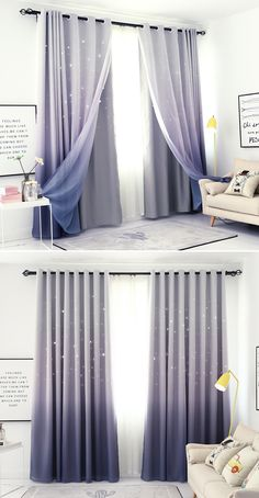 Grey Blackout Curtains Block Out Curtains Purple Curtains Purple Curtains Bedroom