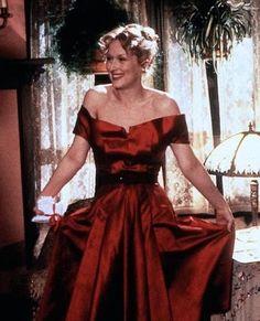 Meryl Streep's red dress in Sophie's Choice.