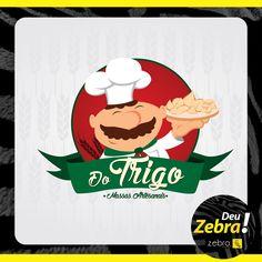 Salgaderia que Deu Zebra! #Zebra #logo #marca #publicidade #agência #propaganda #pp #comunicação #Tupã #publicitário #salgado #DoTrigo #DeuZebra #empresa #empreendedorismo