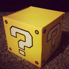 Guess what's inside the Question Block...  #doyouremember #nostalgia #mario #videogames #nintendo