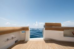 The Hatteras is a workhorse for the angler who demands more from a premium sportfishing convertible yacht. Hatteras Yachts, Yacht Interior, Yacht Design, Motor Yacht, Sport Fishing, Miami Heat, Outdoor Furniture, Outdoor Decor, Palm Beach