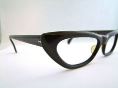 1950s CATEYE  Eyeglasses Sweet made in Spain by ifoundgallery,  Pin up Style!!