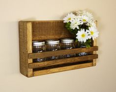 Rustic Wall Organizer by HomesteadTraditions on Etsy