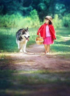 red riding hood...<3