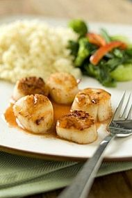 Seared Scallops with Blood Orange and Smoked Paprika Sauce | Whole Foods Market