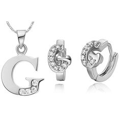 Virgin Shine Platinum Plated Rhinestones G Jewelry Sets VIRGIN SHINE http://www.amazon.com/dp/B00LGQGPLK/ref=cm_sw_r_pi_dp_Ohqtub0WF6MJV